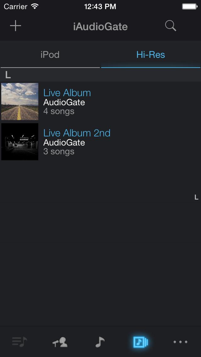 iAudioGate screenshot 4