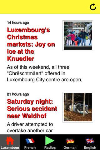 Luxembourg headlines & radios - náhled