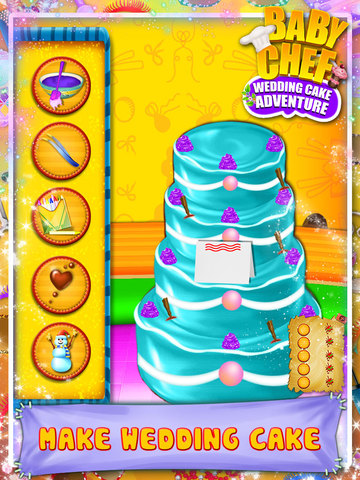 Baby Chef Wedding Cake Adventure screenshot 4