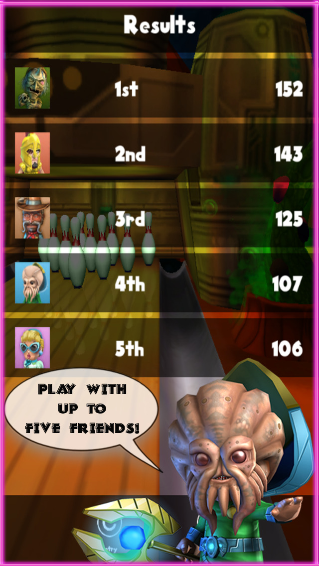 Lucky Lanes Bowling screenshot 3