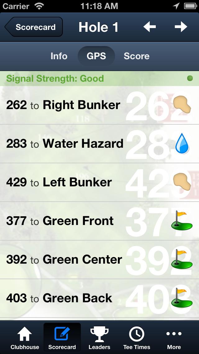 Chimera Golf Club screenshot 4