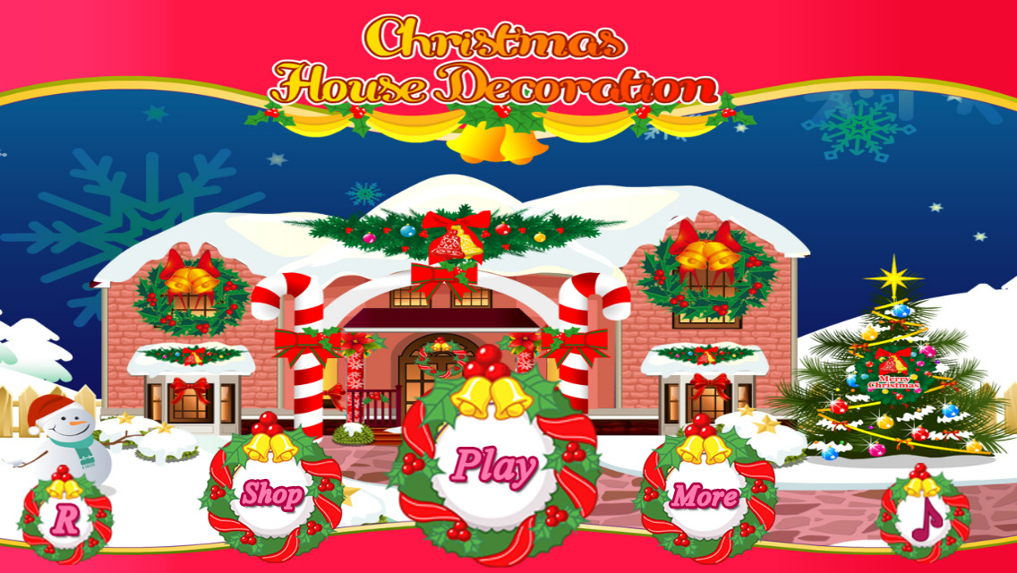 christmas home decorating games app shopper christmas house decoration 10587
