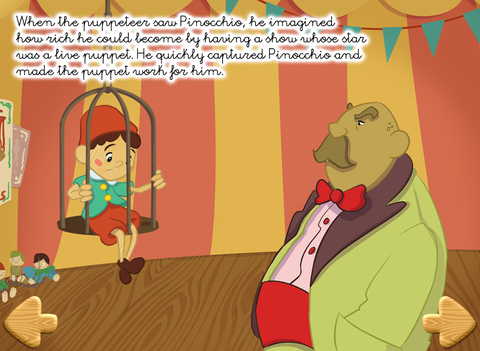 Pinocchio - Multi-Language book screenshot 6