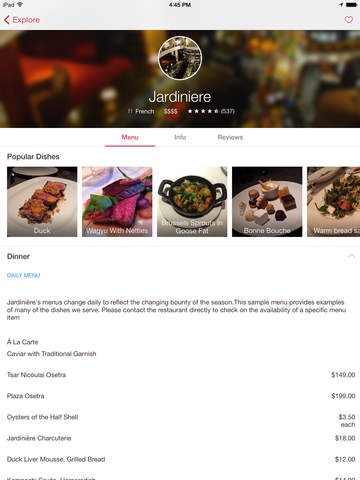 OpenTable screenshot 8