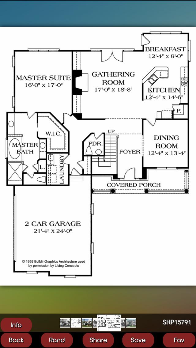 Shingle House Plans screenshot 4