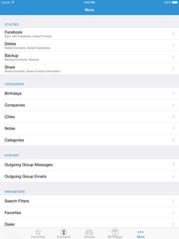 ContactsXL 2016 screenshot 10