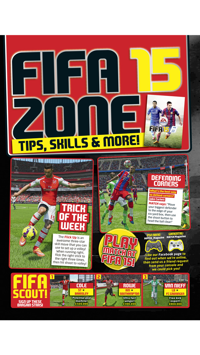 Match! The cool football magazine for young fans screenshot 4