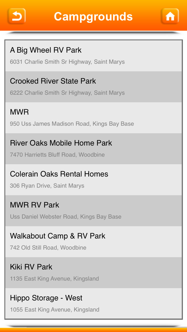 Campgrounds & RV Parks screenshot 5