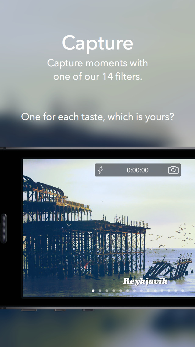 Videofy - Shoot HD video, edit, choose filter, slow motion and free music screenshot 2