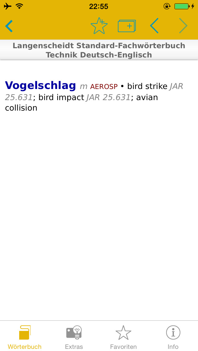 Technik Englisch<->Deutsch Fachwörterbuch Standard screenshot 4