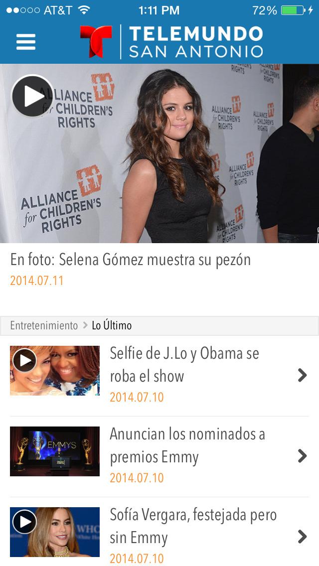 Telemundo 60 San Antonio screenshot 4