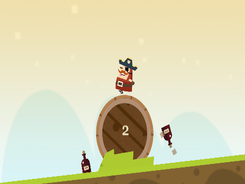 Captain Pirate a Roller Adventure screenshot 8
