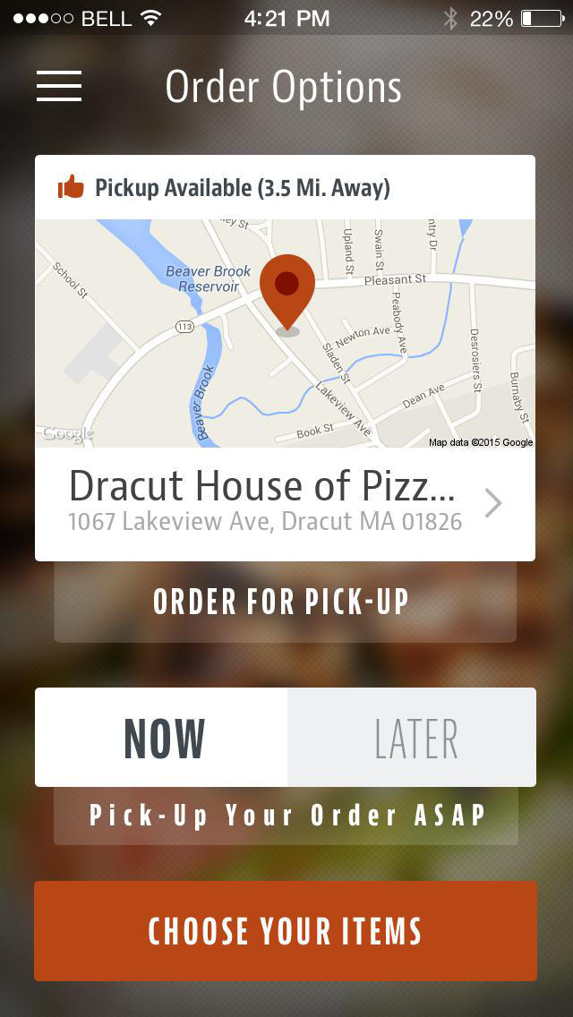 Dracut House of Pizza screenshot 2