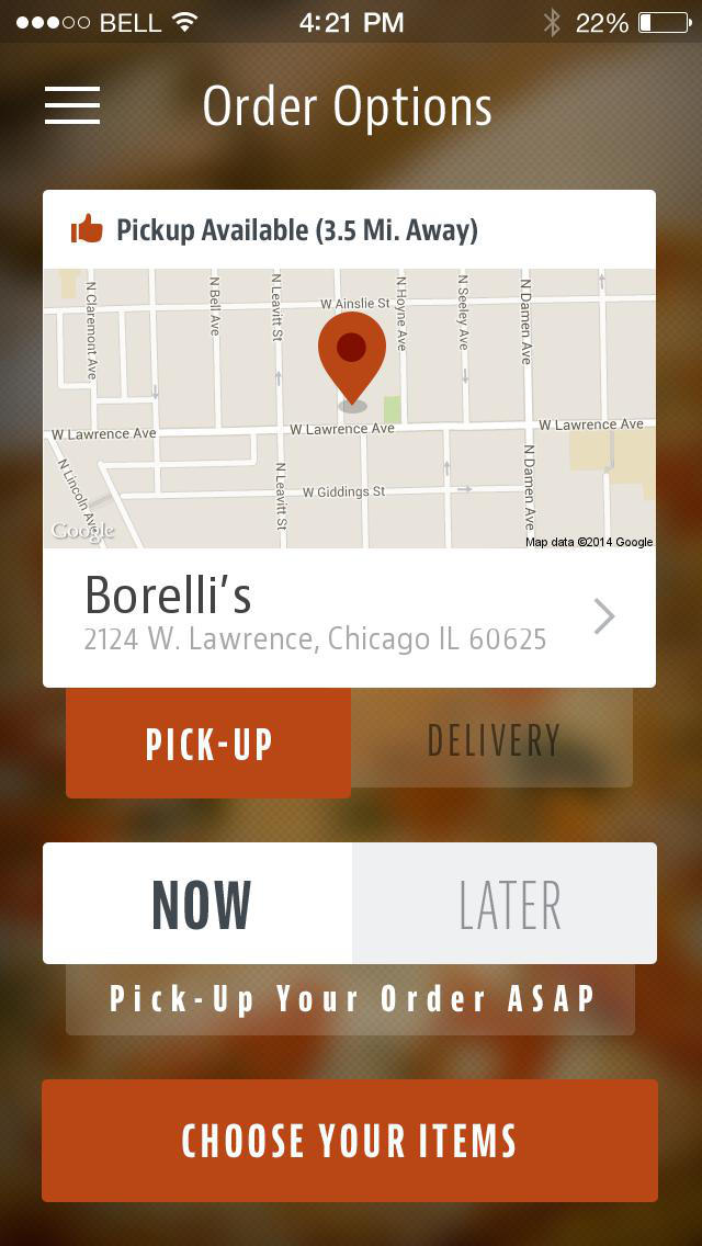 Borelli Pizza screenshot 2