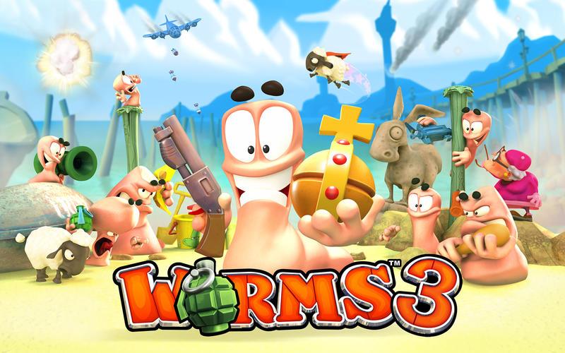 Worms™ 3 screenshot 1