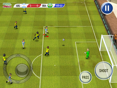 Striker Soccer America screenshot 10