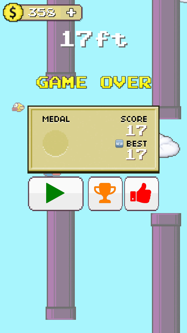Flappy Hero Fly High screenshot 5
