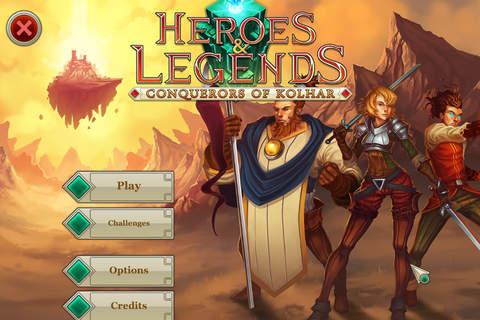 Heroes & Legends: Conquerors of Kolhar - náhled