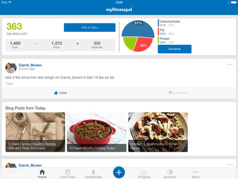 MyFitnessPal screenshot 6