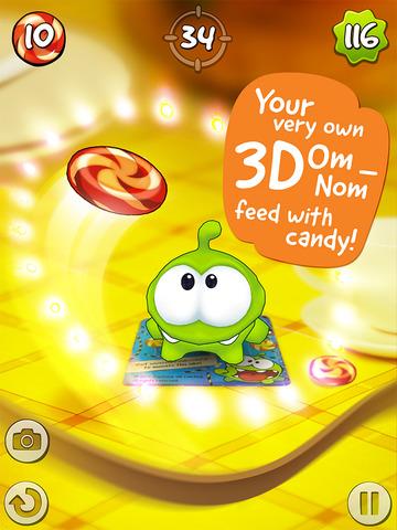 Om Nom: Candy Flick screenshot 6