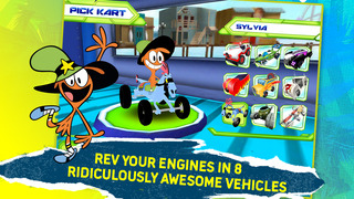 Disney XD Grand Prix screenshot 3