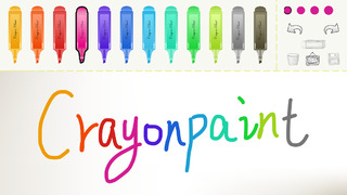 Crayon Paint for drawing, free color pen, Paper screenshot 1