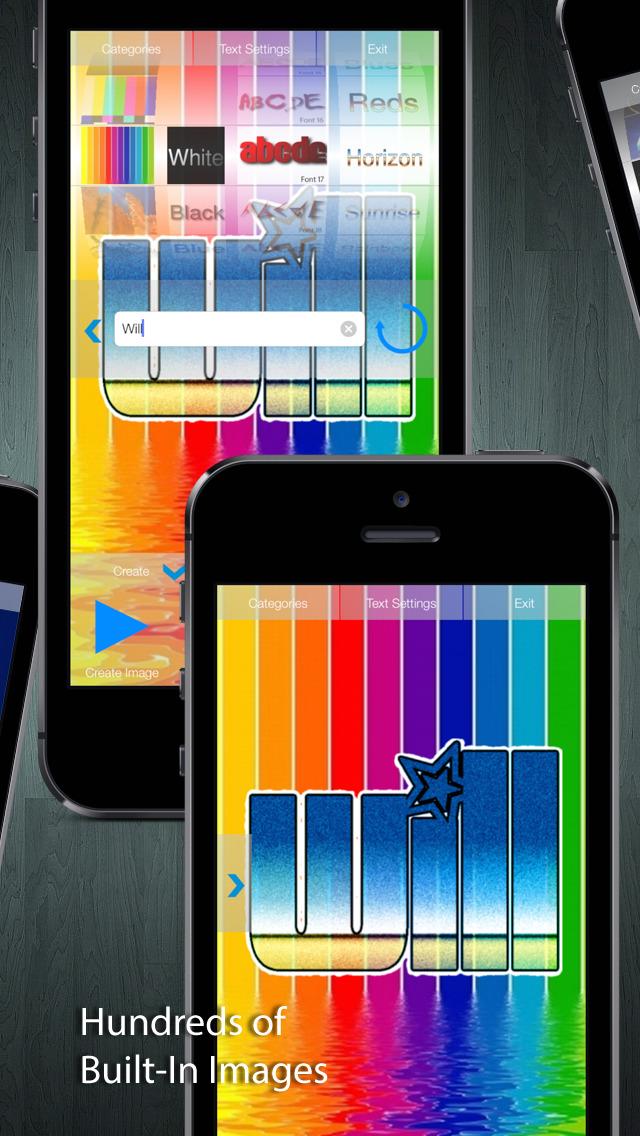 Neon Wallpaper Maker screenshot 2