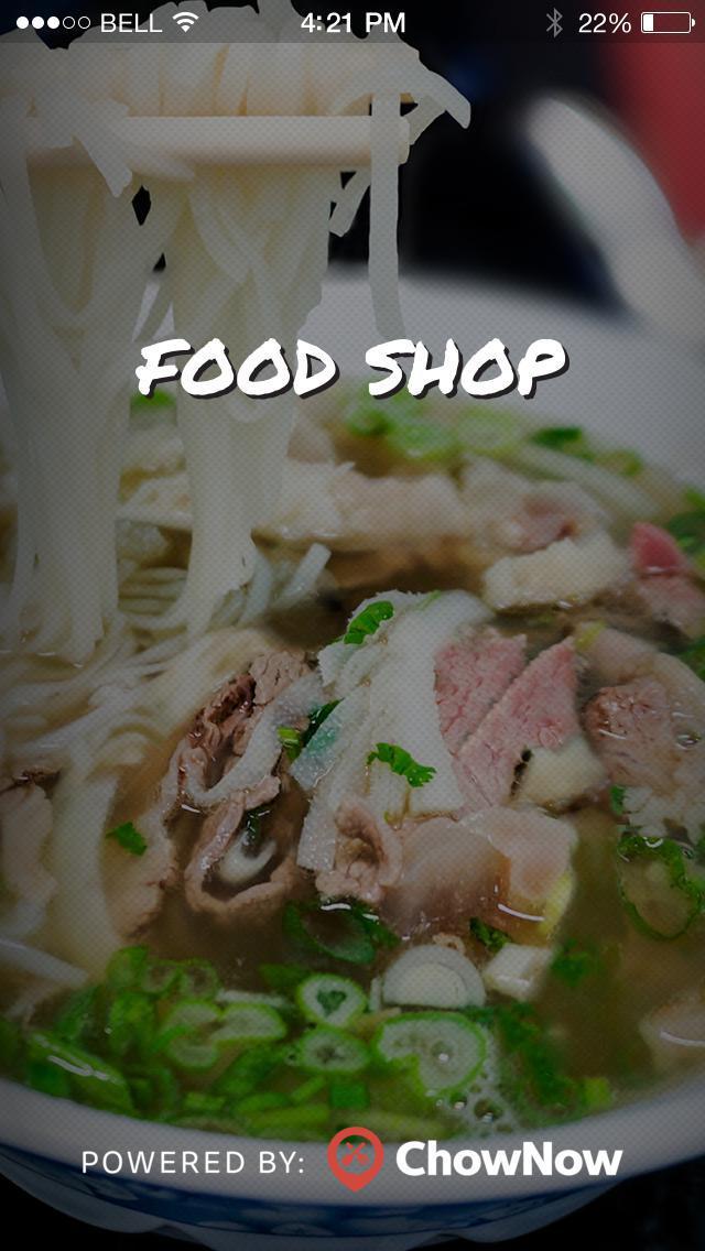 Food Shop screenshot 1