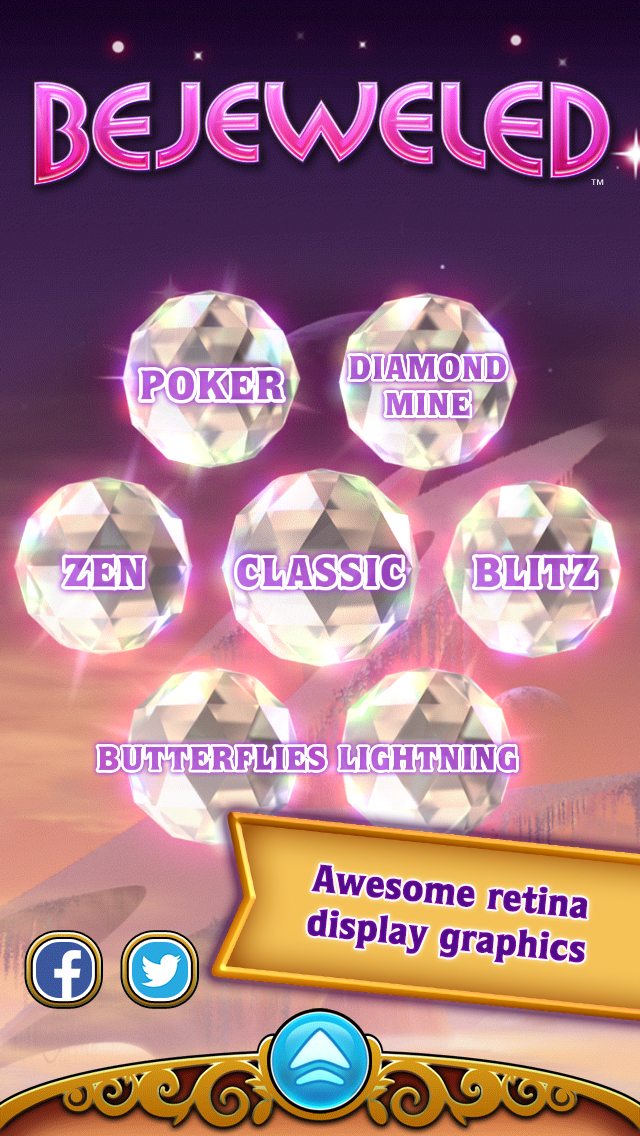 Bejeweled Classic screenshot 2