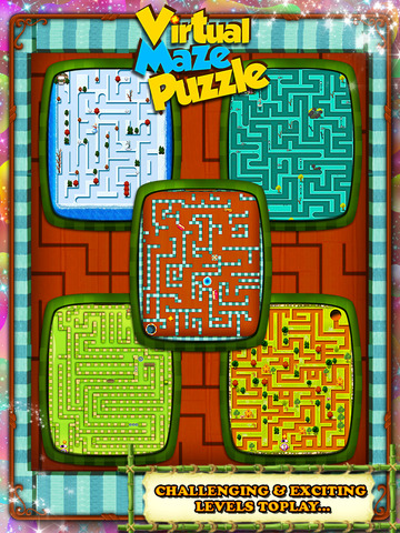 Virtual Maze Puzzle screenshot 7