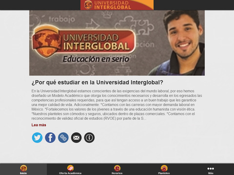 Universidad Interglobal - náhled
