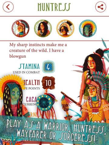 Necklace of Skulls - The Mayan adventure gamebook screenshot 8