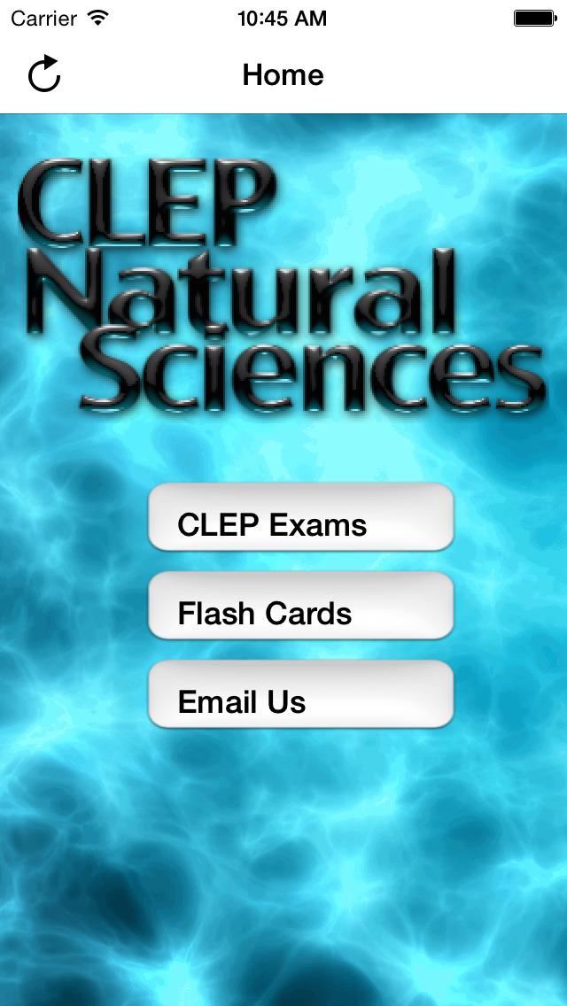CLEP Natural Science Buddy screenshot 1