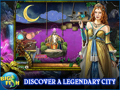 Dark Parables: The Little Mermaid and the Purple Tide HD - A Magical Hidden Objects Game (Full) screenshot 3