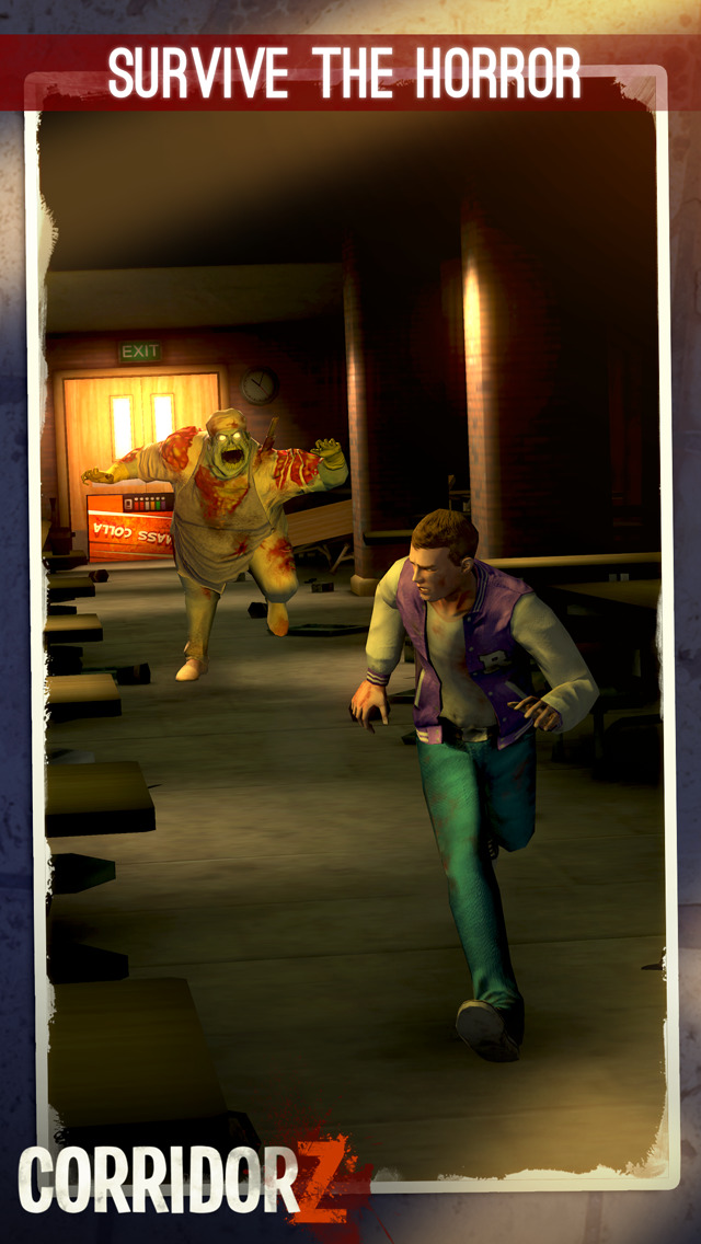 Corridor Z - Inverted Zombie Runner screenshot 5