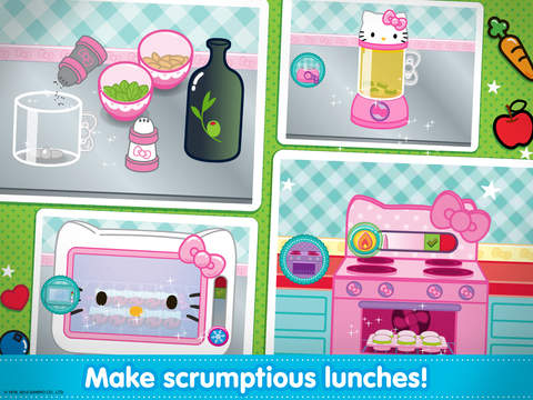 Hello Kitty Lunchbox screenshot 7