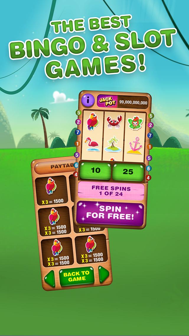 Bingo Island - free Bingo and Slots screenshot 2