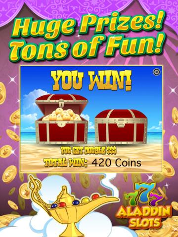 Ace Arabian Casino Slots - Magic Genie Jackpot Big Win Adventure Slot Machine Game Free screenshot 10