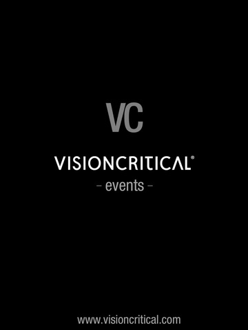 Vision Critical Events screenshot 3