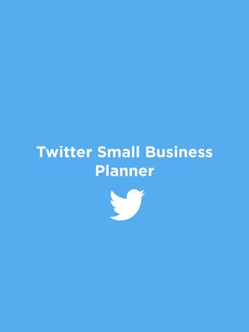 Twitter Small Business Planner screenshot 3