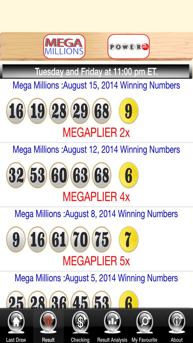 Mega Millions PowerBall Live Free (iPhone) reviews at iPhone
