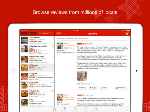 Yelp-Food & Services Around Me screenshot 7