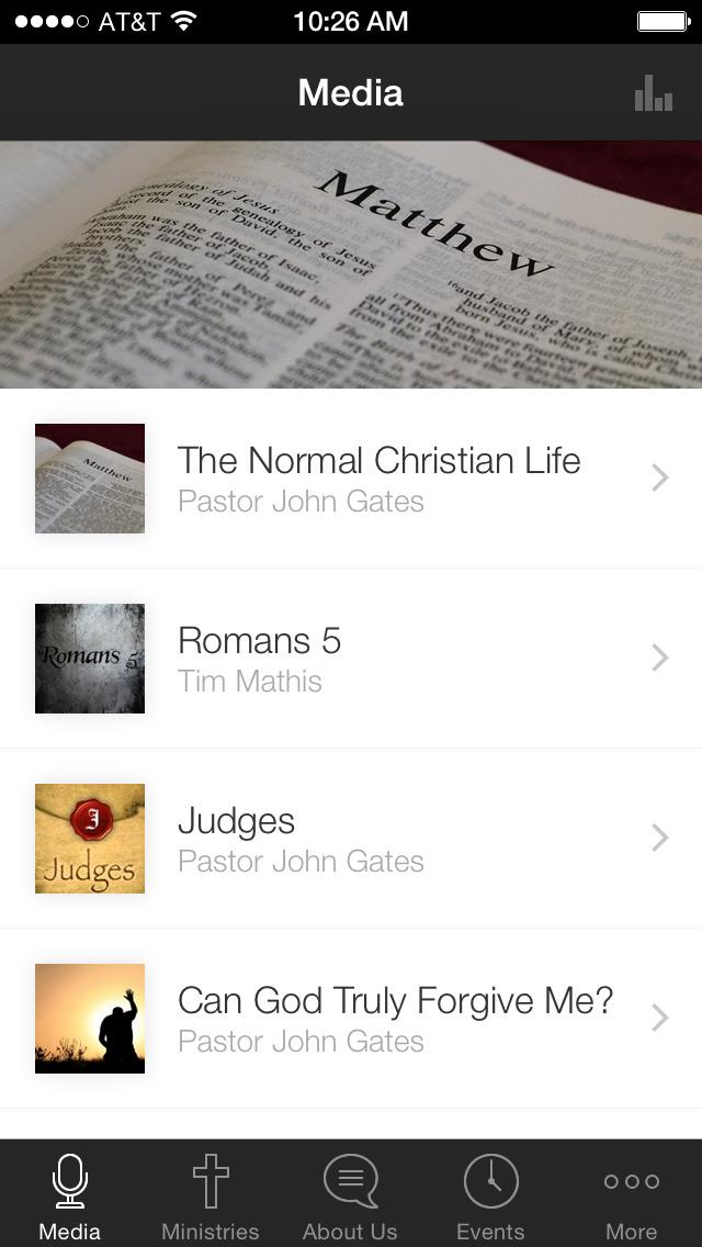Mount Vernon Baptist Church screenshot 1