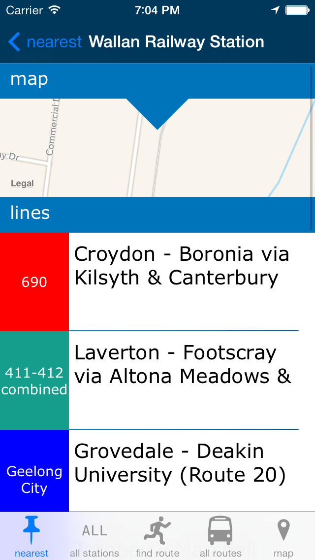 Melbourne Buses screenshot 2