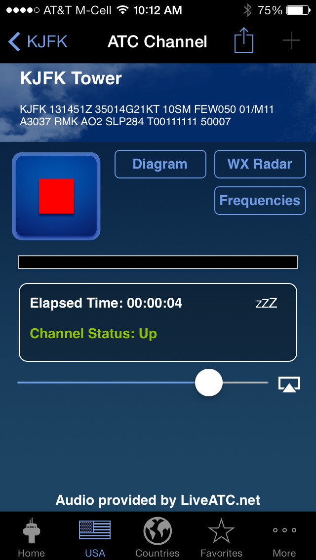 LiveATC Air Radio screenshot 3