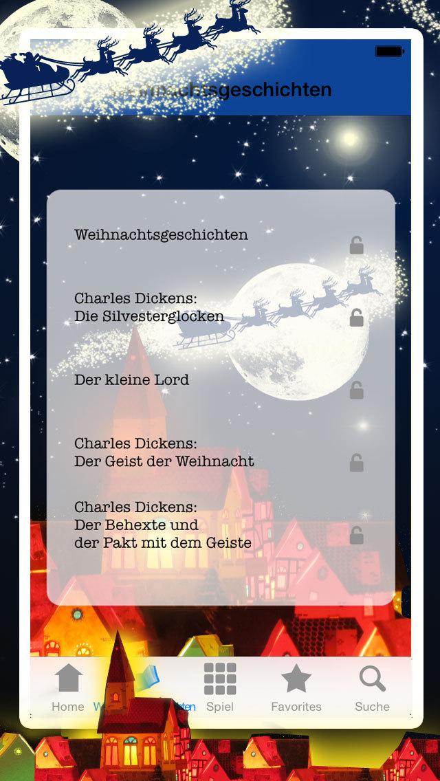 Weihnachtsgeschichten - Heimelige Weihnachtsmärchen & Geschichten zum Advent screenshot 2