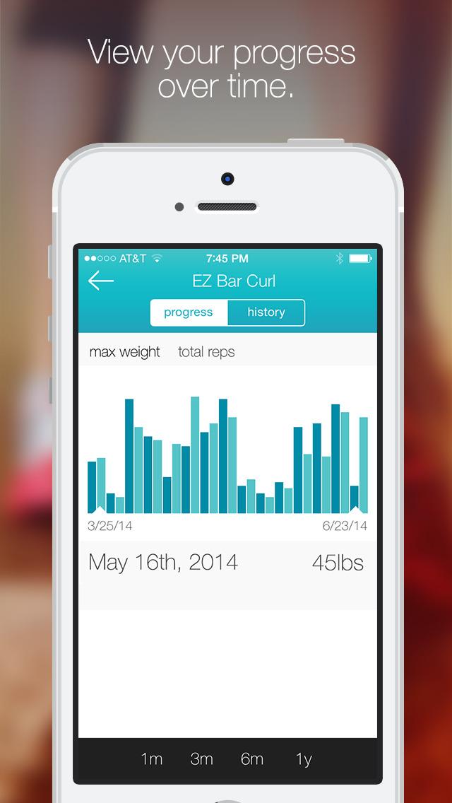 Fitlist - Gym Workout Log screenshot 4