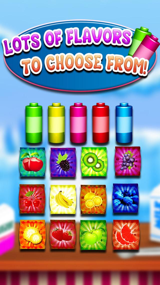 """ A AmazeBalls Candy Froyo Maker PRO – Customer Frozen Yogurt Creator screenshot 2"