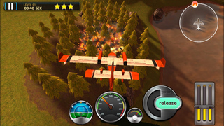 Airplane Firefighter Simulator - eXtreme 3D Landing Firefighting Emergency Rescue Flying Games screenshot 2
