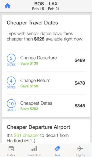 Hopper - Flight & Hotel Deals screenshot 4